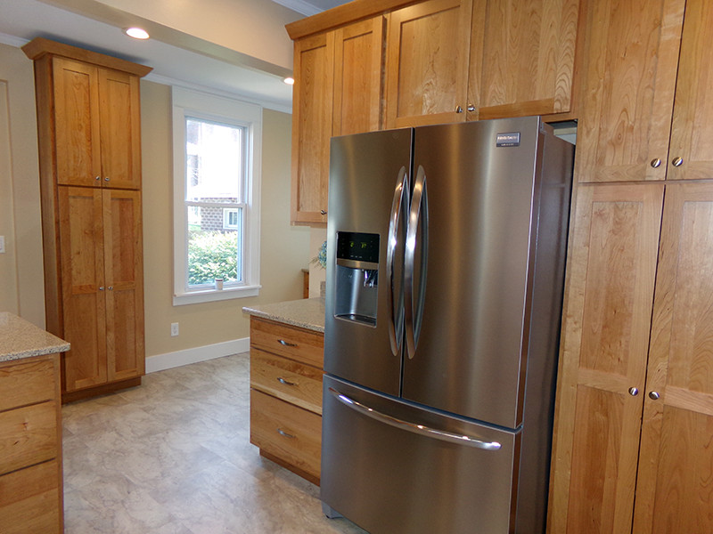 what color granite goes with cherry cabinets ayersman renovations llc